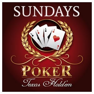 <h2>Sundays: Poker Night</h2>