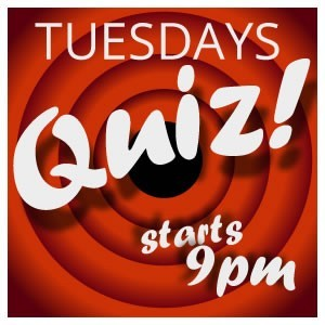 <h2>Tuesdays: Quiz Night</h2>